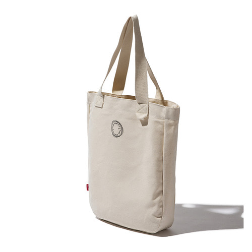 CIRCLE ECO BAG - ECRU