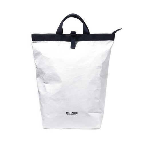 TYVEK 2WAY BACKPACK - WHITE