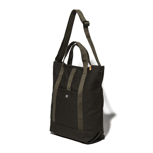 CANVAS 2WAY TOTE BAG - KHAKI