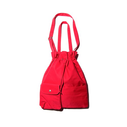 POCKET BIND 2WAY BAG - RED