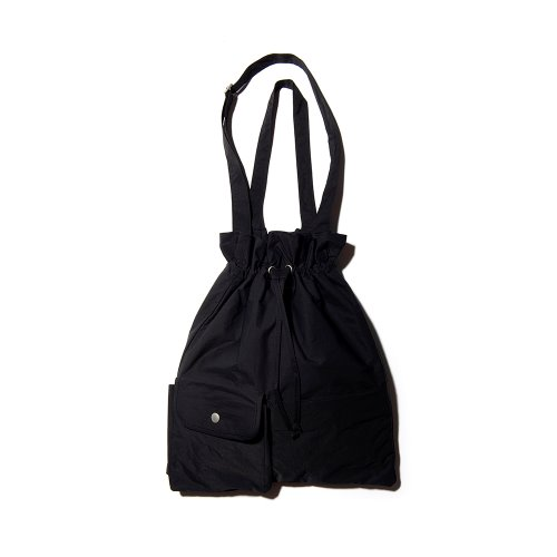 POCKET BIND 2WAY BAG - BLACK