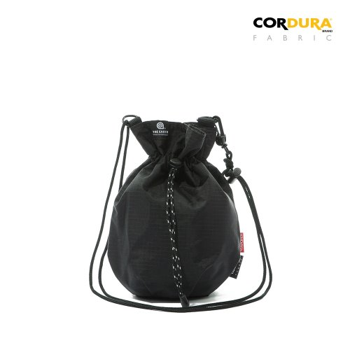 RIPSTOP CORDURA BUCKET BAG - BLACK