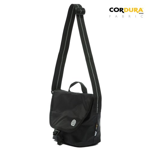 RIPSTOP CORDURA CROSS BAG - BLACK