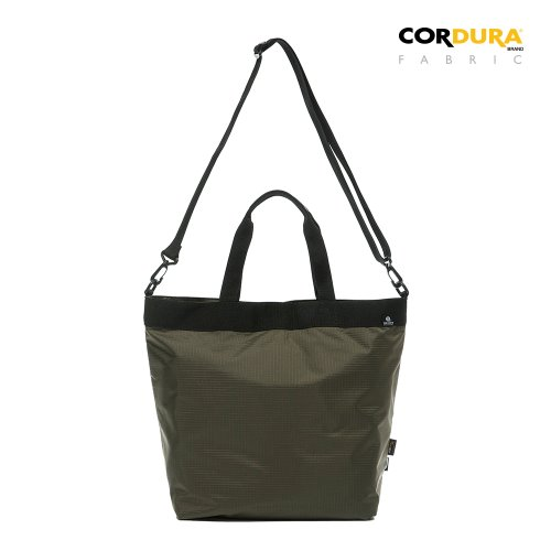RIPSTOP CORDURA 2WAY TOTE&CROSS BAG - OLIVE