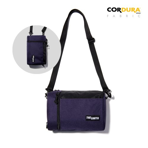 CORDURA 2WAY MINI CROSS BAG - PURPLE
