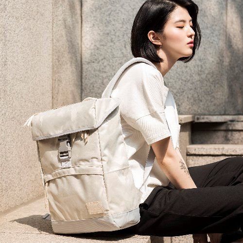 W.C FLOOD BACKPACK - WHITE CAMO