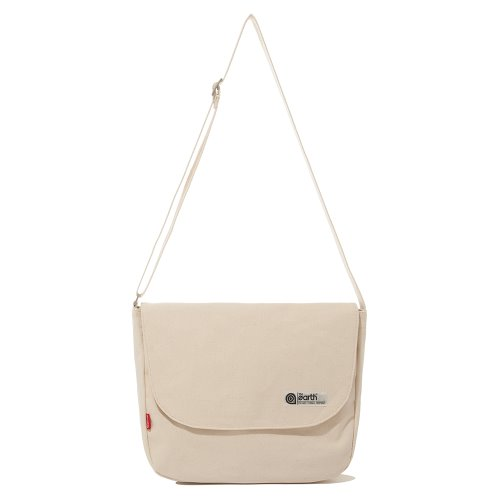 CANVAS LTE MAIL BAG - ECRU