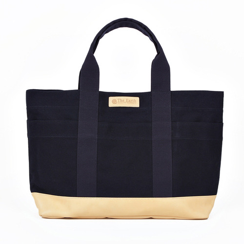 CANVAS TOTE BAG NAVY