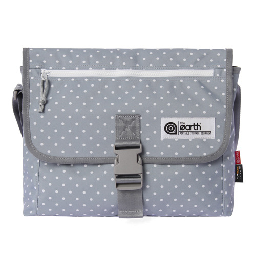 DOT CROSS BAG- GREY