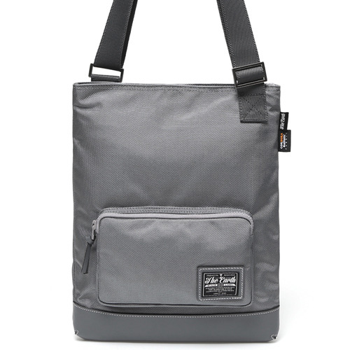 BLACK LABEL MESSENGER BAG - GREY