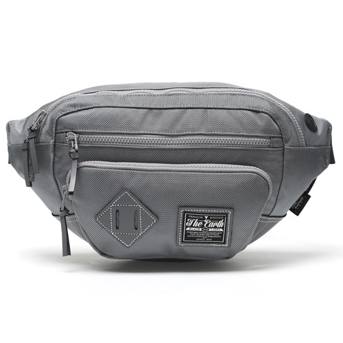 BLACK LABEL WAIST BAG - GREY
