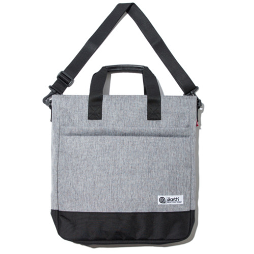 2.T TOTE&CROSS BAG - L.GREY