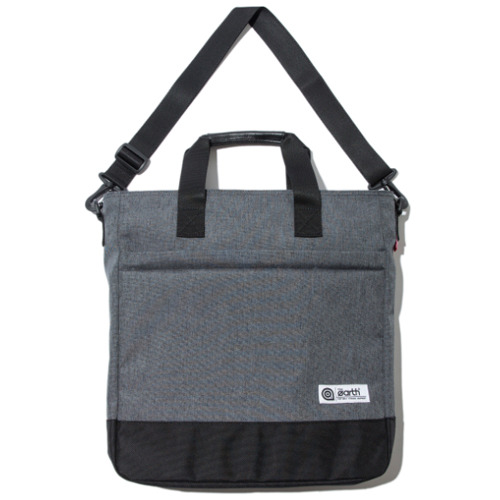 2.T TOTE&CROSS BAG - CHARCOAL