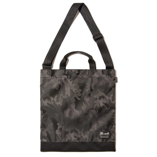 J.Q TOTE&CROSS BAG - GREY