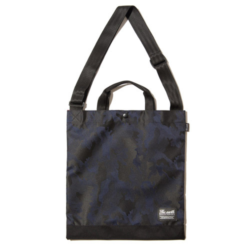J.Q TOTE&CROSS BAG - NAVY
