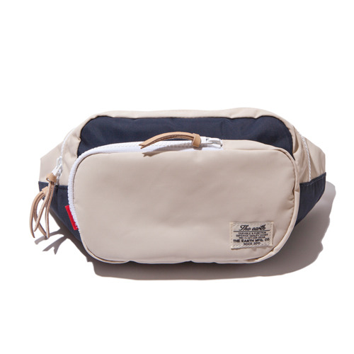 CB WAIST BAG - ECRU/NAVY