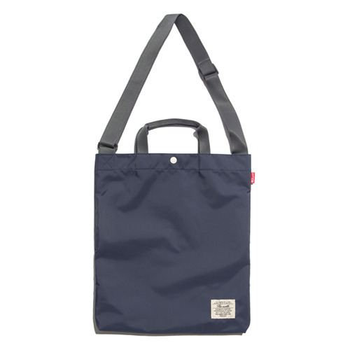 CB N TOTE&CROSS BAG - NAVY