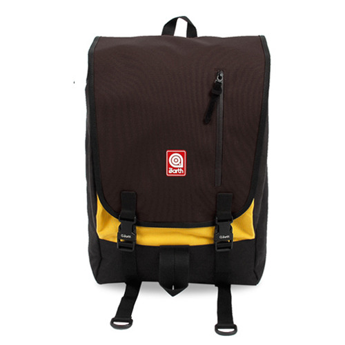 PLATE BACKPACK BROWN