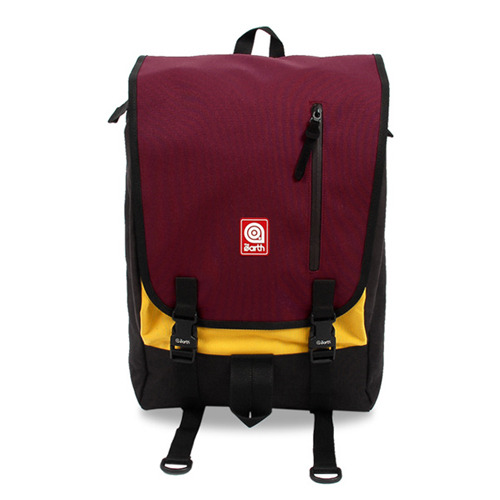 PLATE  BACKPACK BURGUNDY