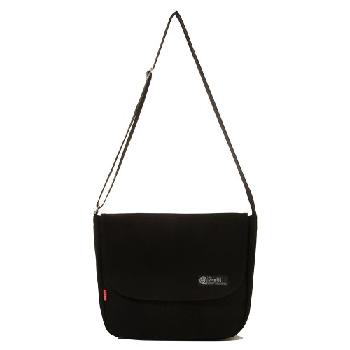 CANVAS LTE MAIL BAG - BLACK